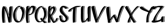 Sandbrain3D Font UPPERCASE