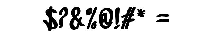 SandbrainBlack Font OTHER CHARS