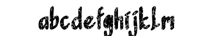 SandbrainRough Font LOWERCASE