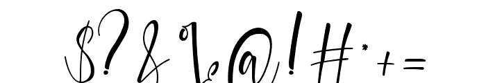 Sanoraya Font OTHER CHARS