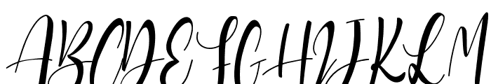 Sanoraya Font UPPERCASE