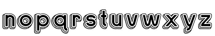 Sans One Vintage Regular Font LOWERCASE