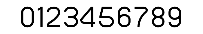 SansOne Thin Font OTHER CHARS