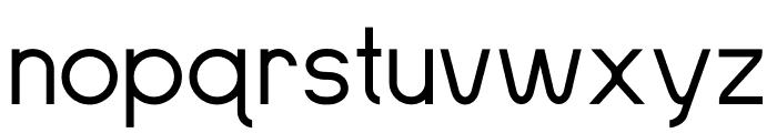 SansOne Thin Font LOWERCASE