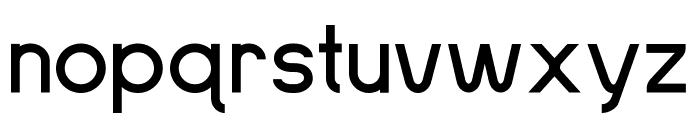 SansOne Font LOWERCASE
