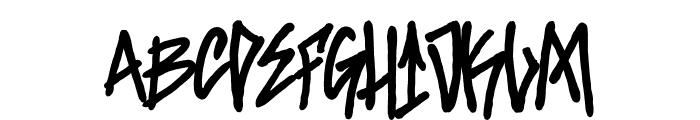 Santa Monica Tag Font UPPERCASE