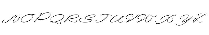 Santana Font UPPERCASE