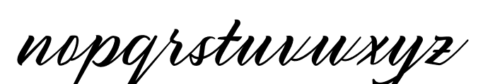 Sany Cimahen Font LOWERCASE