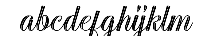 Sarahfadhilla Font LOWERCASE