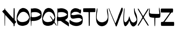 SassyBlogger Font UPPERCASE