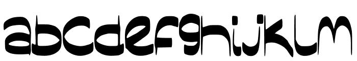 SassyBlogger Font LOWERCASE