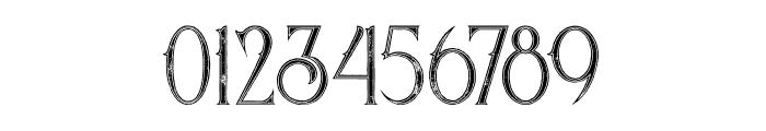Savana Inline Grunge Font OTHER CHARS