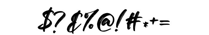 Savanah Regular Font OTHER CHARS