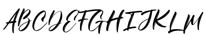 Savanah Regular Font UPPERCASE
