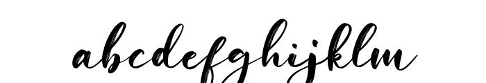 Savanah Regular Font LOWERCASE