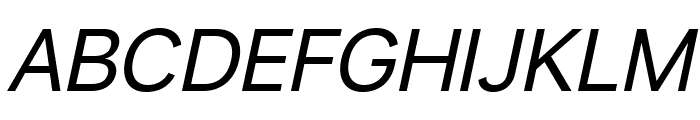 Savass Sans Italic Font UPPERCASE
