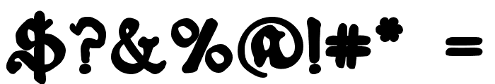 Schoensperger der Altere Bold Font OTHER CHARS
