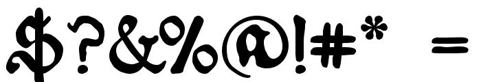 Schoensperger der Altere Font OTHER CHARS