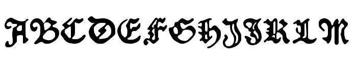 Schoensperger der Altere Font UPPERCASE