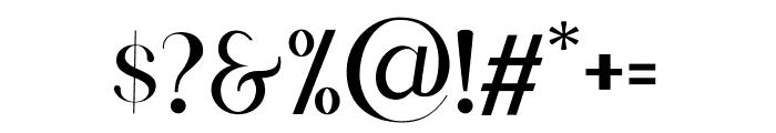 Scientific Graphics Sans Font OTHER CHARS