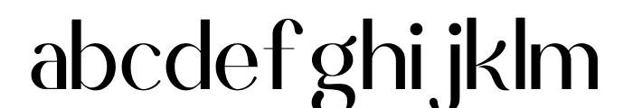 Scientific Graphics Sans Font LOWERCASE