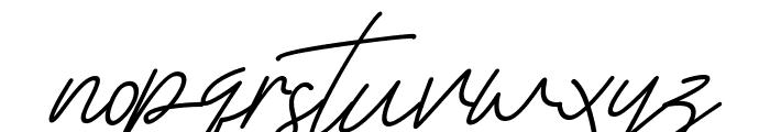 Scientific Graphics Sign Italic Font LOWERCASE