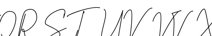 Scientific Graphics Sign Font UPPERCASE
