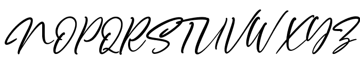 Scotland Font UPPERCASE