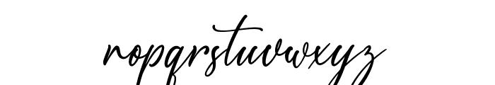 Scotland Font LOWERCASE
