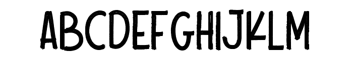 Scout Kind Font UPPERCASE
