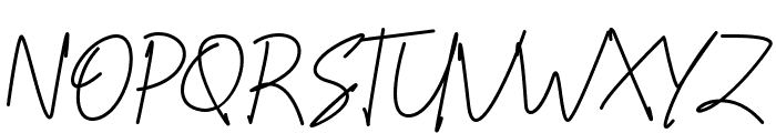 Scoutline Font UPPERCASE