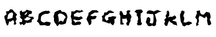 Scrap Font UPPERCASE