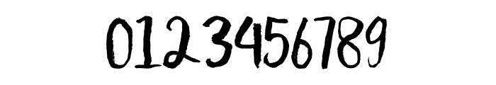 Scratchedman-Regular Font OTHER CHARS