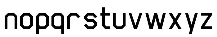 Scriber-Bold Font LOWERCASE