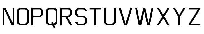 Scriber-Medium Font UPPERCASE