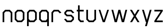 Scriber-Medium Font LOWERCASE