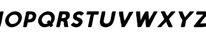 Script Calm Bold Italic Font LOWERCASE