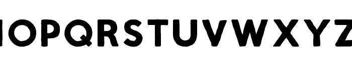 Script Calm Bold Font UPPERCASE