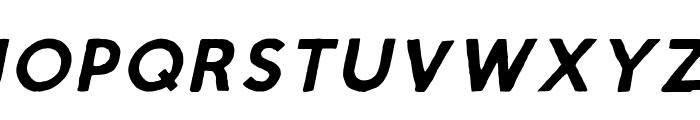 Script Calm Cursive Font UPPERCASE