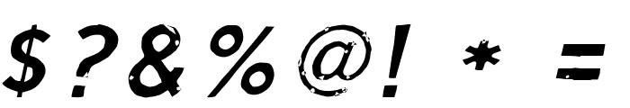 Script Calm Light Cursive Font OTHER CHARS