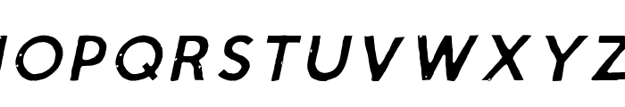 Script Calm Light Cursive Font UPPERCASE