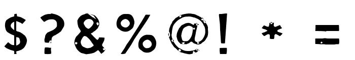Script Calm Light Font OTHER CHARS