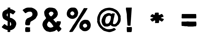Script Calm Regular Font OTHER CHARS