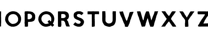 Script Calm Regular Font UPPERCASE