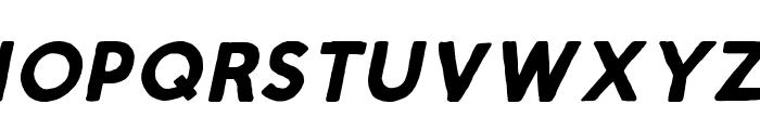 ScriptCalm-BoldItalic Font LOWERCASE