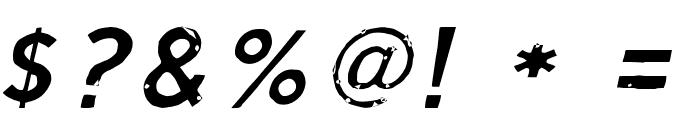 ScriptCalm-LightCursive Font OTHER CHARS