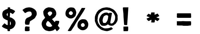ScriptCalm-Regular Font OTHER CHARS