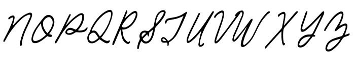 Sea Breeze Regular Font UPPERCASE