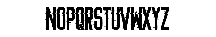 Searching For Signal Regular Font UPPERCASE