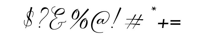SeattleScript Font OTHER CHARS
